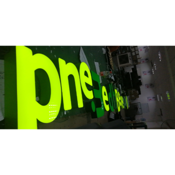 Building One Pharmacy Sign Board Led Display Sign