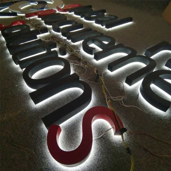 Outdoor Advertising Acrylic 3D Channel Letter Led Sign Board
