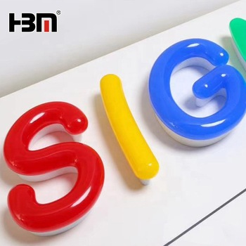 cheap led epoxy channel letter sign, custom color illuminated sign letters