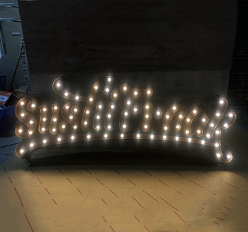 China Supplier waterproof led acrylic letter sign metal letters