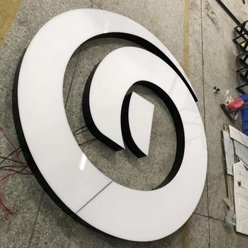 Professional frontlit acrylic led letters and signs front light channel letter neon signage
