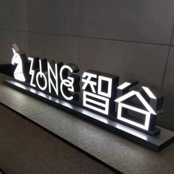 Clear Picture And Front Lit Outdoor Light Up Letters