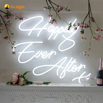 High quality custom wall vintage classic glass neon sign portable hanging small 3d acrylic led neon sign letter