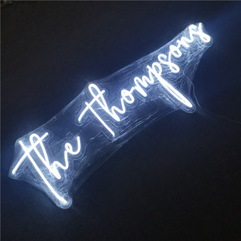 Waterproof LED flex indoor and outdoor advertising custom led neon sign