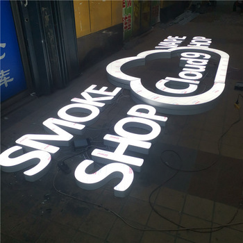 Custom Waterproof Led Illuminated Outdoor Light Channel Letters Sings Store Front Led Signs