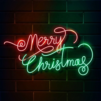 Illuminated Custom Light Christmas Party Neon Art Decoration Neon LED Wall Sign