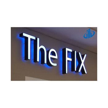 2D and 3D led backlit letters with high quality