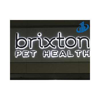 Brand new 3d led sign board for store building