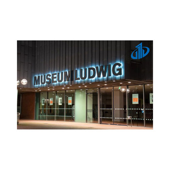 Outdoor large size metal letters outside for store building
