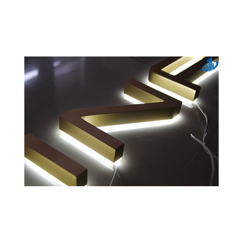 Large and Oversized designer letter channel charms for signage project