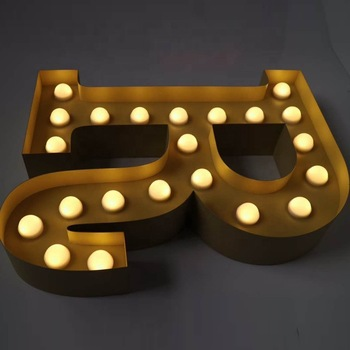 High-quality LED channel surface illuminated letter decoration signs can be used for shops, Christmas, parties