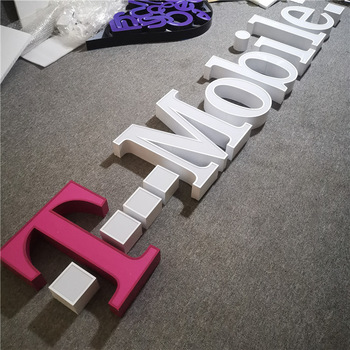 3D Acrylic LED Channel Letter Sign Custom Advertising Shop Sign Electronic Signs