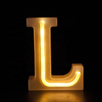 Wholesale Custom made home decor neon sign night light box led letter light up letters