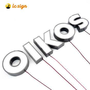 High Quality Cheap Custom 3d Led Lighted Plastic Letters Acrylic Letter Sign