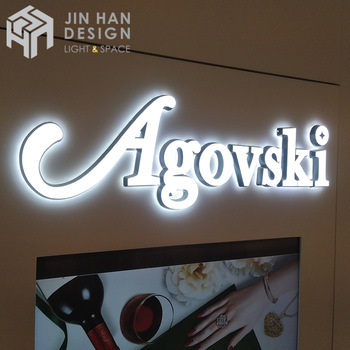 Custom high quality acrylic neon led sign 3d luminous channel letter sign