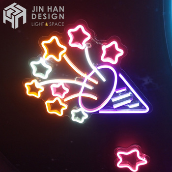 Multicolor personalized acrylic light sign decoration 3d led neon sign
