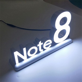 wholesale channel letters Wall mounted custom sign advertising Led front lit letter signs