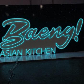 Factory Wholesale Color Changing Rgbw Personal Led Neon Sign With Remote