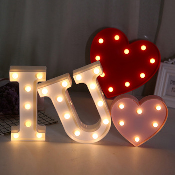Wholesale price party sign love wedding sign stand led marquee sign