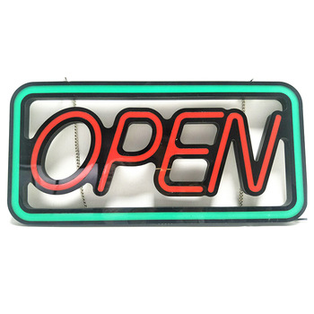 Led Open Closed Neon Sign Board