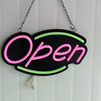 Outdoor Used Led Real Changeable Coffee Shop Open Marquee Letters Neon Sign Board
