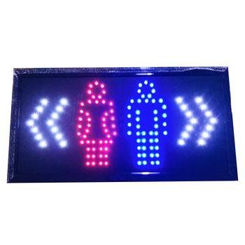 Men and women sign Led sign board  Advertisement Board for Store, Bar, Hotel, Cafe