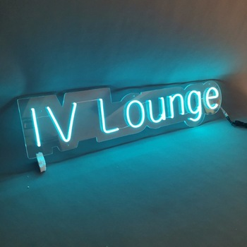 Popular and Colorful Customized IP65 waterproof led flex custom neon light sign