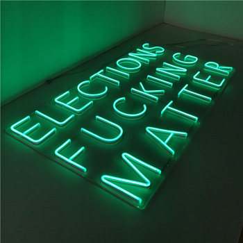 China Outdoor Custom LED Neon Flex sign with RGB light