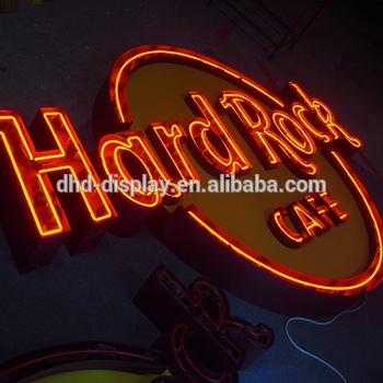 Hot sale channel letter sign decorative flex led neon signs for outdoor advertising door sign