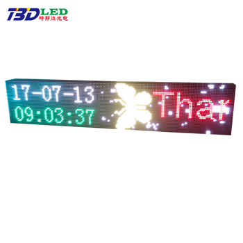 Directly manufacturer top quality bluetooth led message on air sign plate