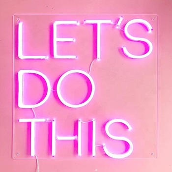 LED  DIY Outdoor Indoor Decorative Advertising custom LED Neon  Sign