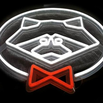 Customized special design logo neon led sign