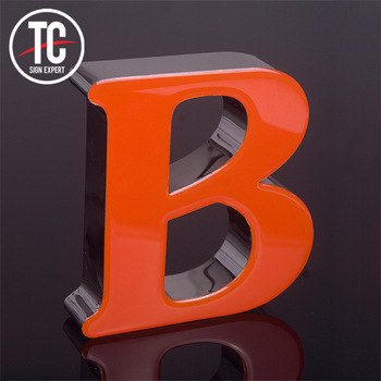 Hot sale bright luminous characters epoxy resin led sign channel letter