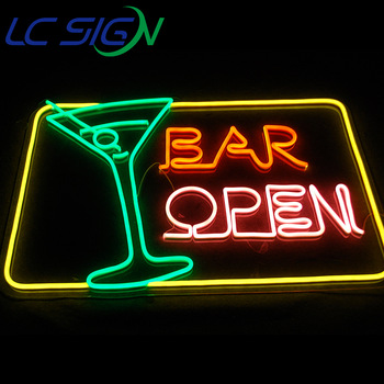 custom color wings neon sign bright up wings neon flex sing special gift custom neon product sign in