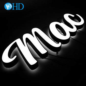 illuminated signage top quality metal alphabet letters good price of led sign maker