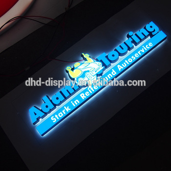 custom letter factory price mini led sign with high quality aluminium channel letter
