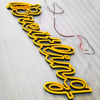 Custom Made Neon 3d Acrylic Sign LED Custom Neon Light Sign led neon for decoration