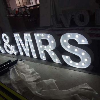 2019 hot High Quality China Led Marquee Letters Signs