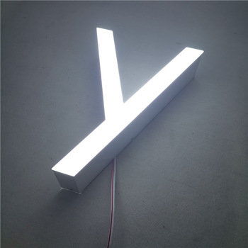 High Brightness IP68 Outdoor Aluminum Led Lighted Letters 3D Led Letter Sign