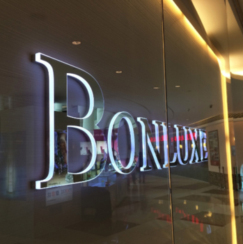 Mirror-like 3D Illuminated Acrylic Letters for Shop Signs