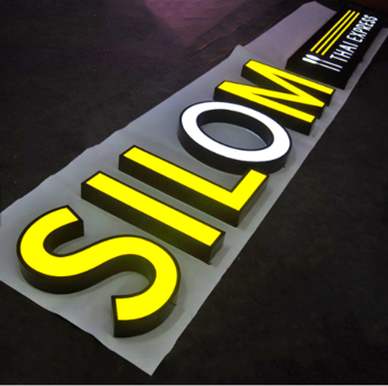 Customized light up letters/battery powered led open signs