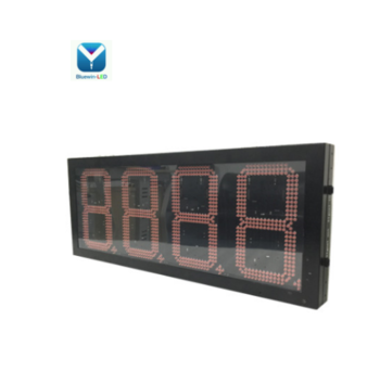 led number/gas price sign