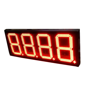 petrol pump display gas station price signs for sale of led direct  factory