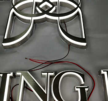 Free Standing Outdoor Large Led Giant Letters Sign Big Led Letters