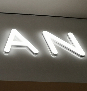 Custom alphabet 3d led light acrylic channel led sign letters