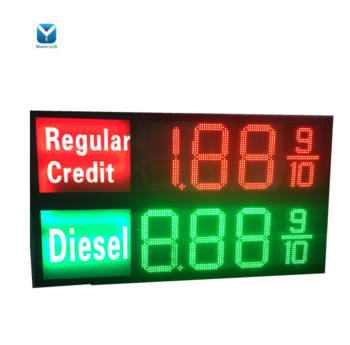 Double Sided LED Gas Price LED Sign LED Gas Price Changer