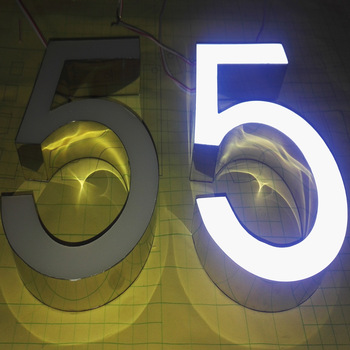 2020 high quality led number sign
