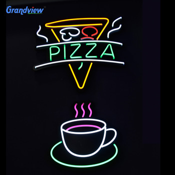 LED wall lighting flex pizza neon sign
