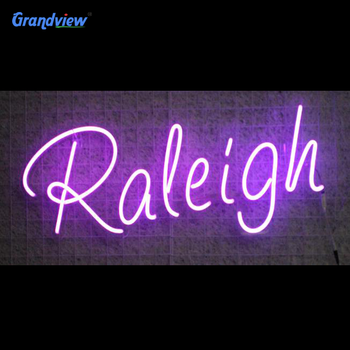 Custom led light pink color words Neon Light Signs for Sale