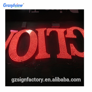 High quality Marquee Letter channel custom made led signs